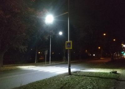 2017-Nasvětlení přechodu Střížova