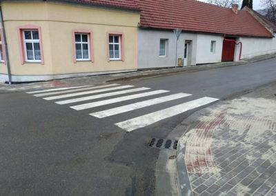 2017-Přechod pro chodce při ZŠ Požární