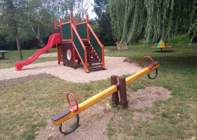 2018-Doplnění herních prvků na hřišti U Potoka