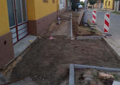 2018-Oprava chodníku Myslivecká-realizace do konce roku 2018