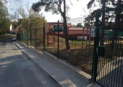 2018-Rekonstrukce plotu MŠ U Lípy Svobody