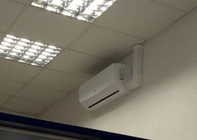 2018-Vybudování klimatizace na poště